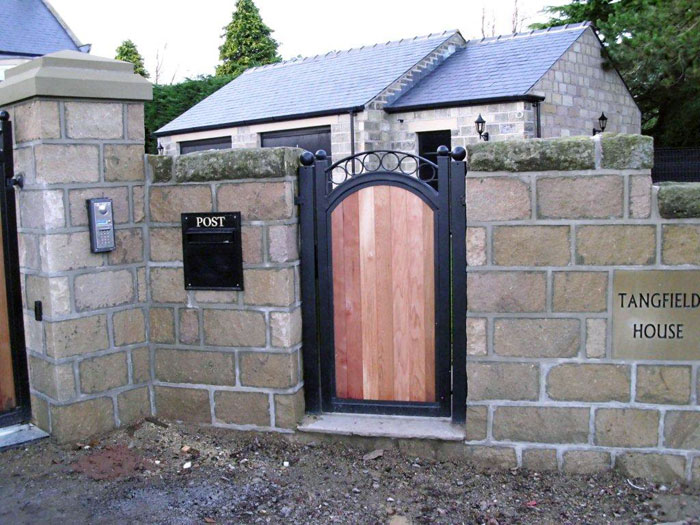 Res Wooden Gates: Automated Residential Metal And Wooden Gates