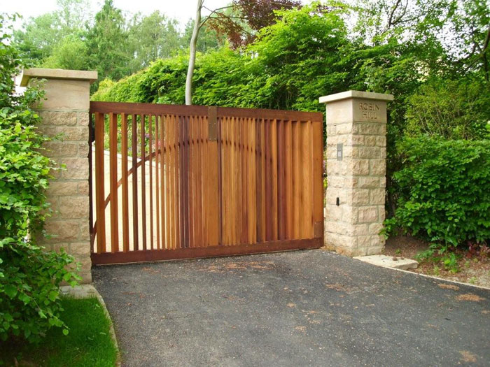 Driveway Gates Wooden Joy Studio Design Gallery Best