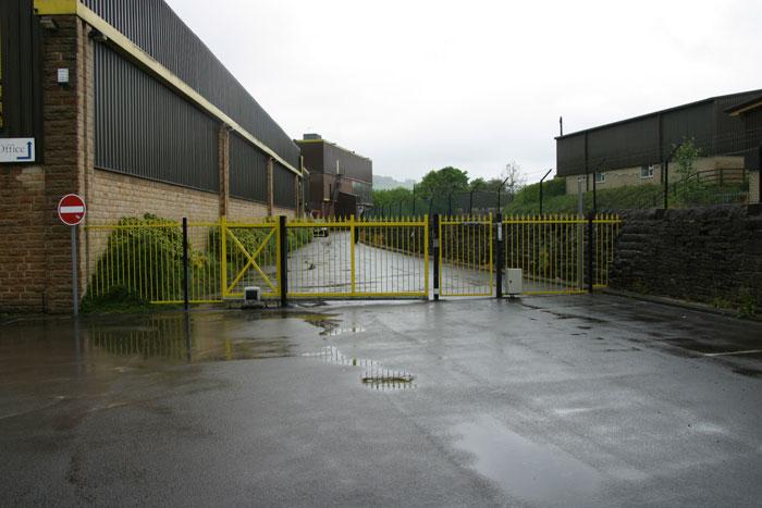 Automated Sliding Gates Commercial Security Gates